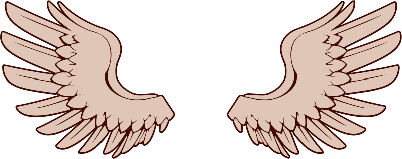 Teeth clipart wing Angels collection wings wings 5