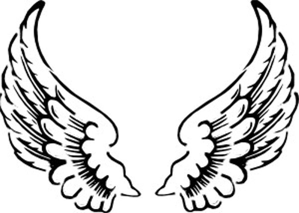 Halo clipart simple wing Images Art Free Angel Clipart