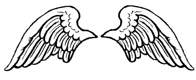 Halo clipart vector 2 clip wings white wings