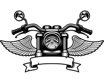 Biker clipart wing Banner Shop Mechanic #5 Service