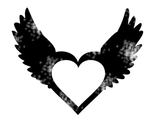 Wings clipart black heart Heart Research: on Metaphysics/ The
