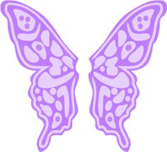Colouful clipart butterfly wing #10