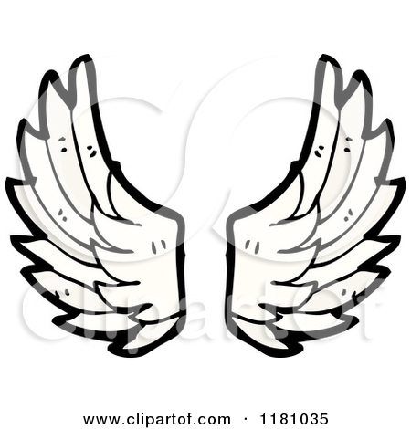 Wings clipart cartoon Collection wings  Little clipart