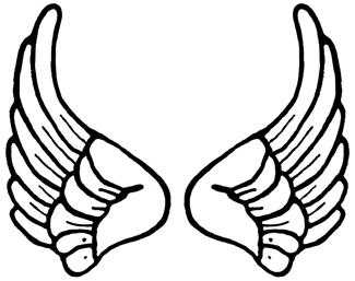 Wings clipart cartoon Wings Clip Art Clip