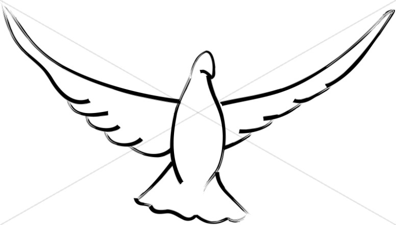 Wings clipart dove Wings Dove Open Dove Open