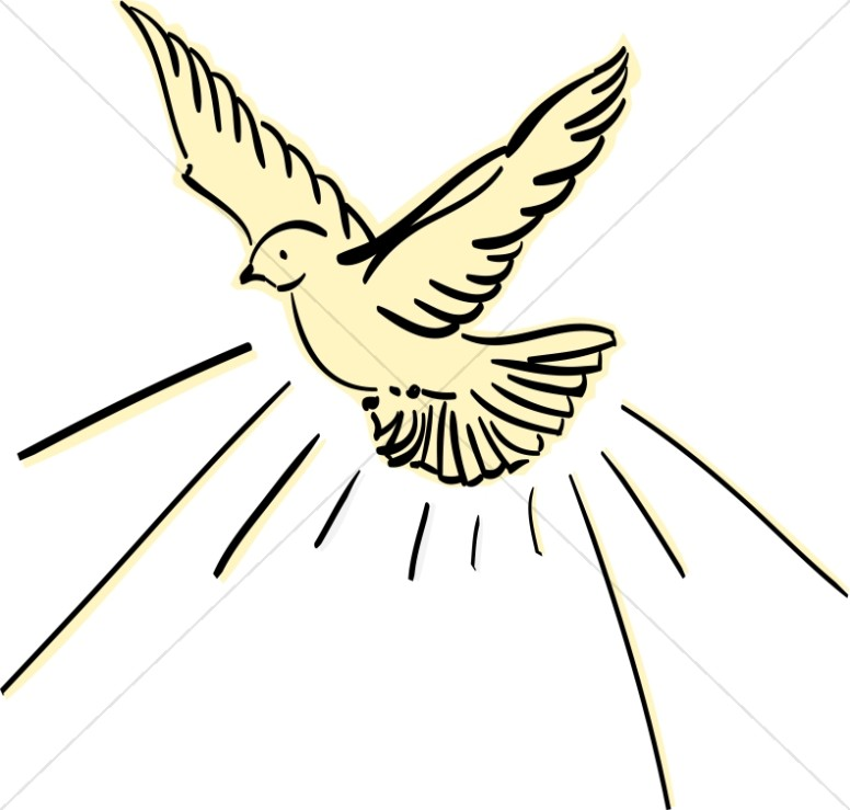 Wings clipart dove Dove Sharefaith Dove Image Yellow