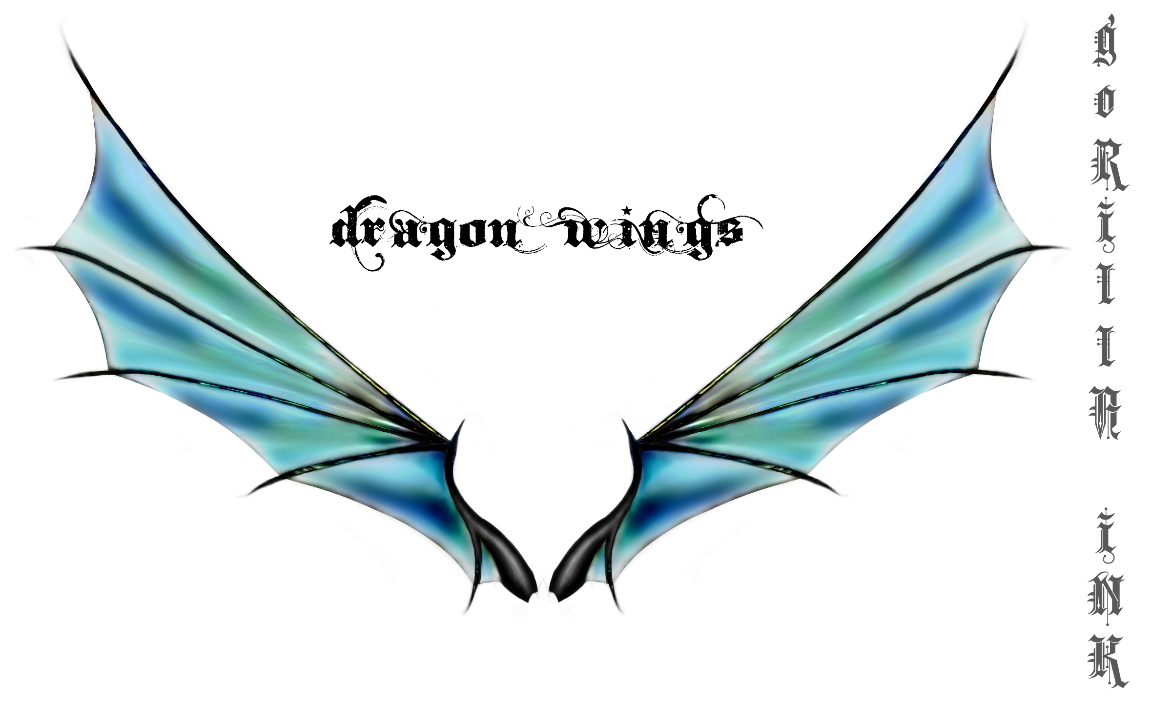 Blue Dragon clipart wings Dragon Dragon on iNK Wings