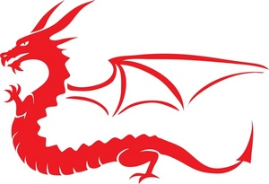 Wings clipart dragon Clip A His Dragon Wings