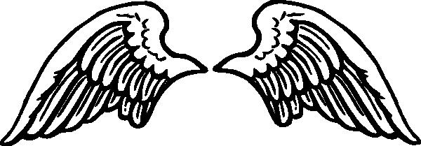 Wings clipart easy Clip Simple hi Angel angel