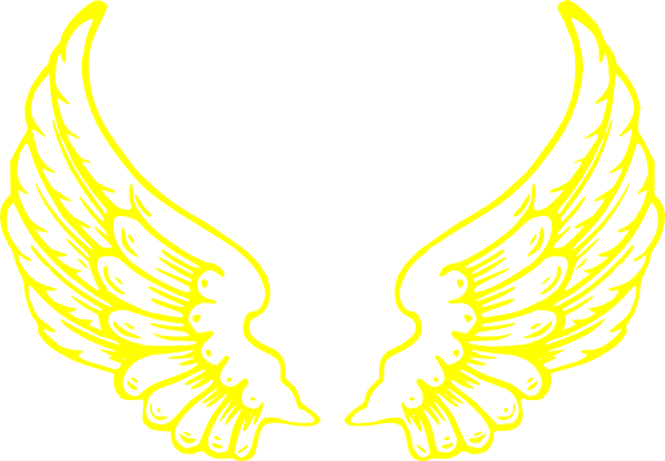 Wings clipart falcon wings Image vector online Clip Falcon