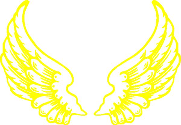 Wings clipart falcon wings Vector online Wings Clip Falcon
