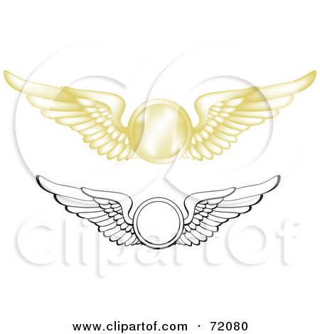Wings clipart flight attendant Flight wings clip (47+) free
