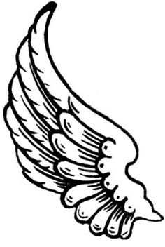 Wings clipart hermes wings Angel imprimir: tattoo angel Google