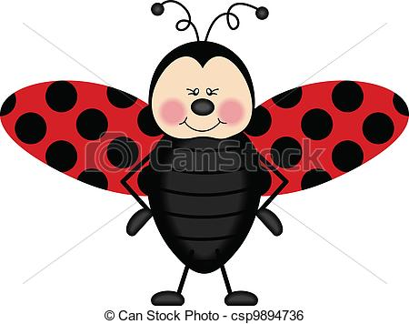 Wings clipart ladybug Csp9894736 Clip Scalable wings