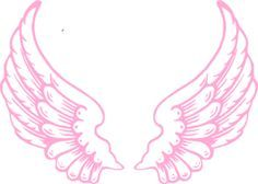 Wings clipart pink Clip Angel Pink Angel Pink