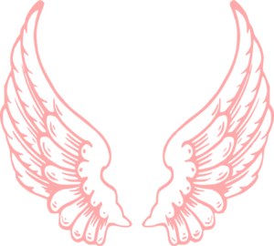 Wings clipart pink Wings Clipart vector art clip
