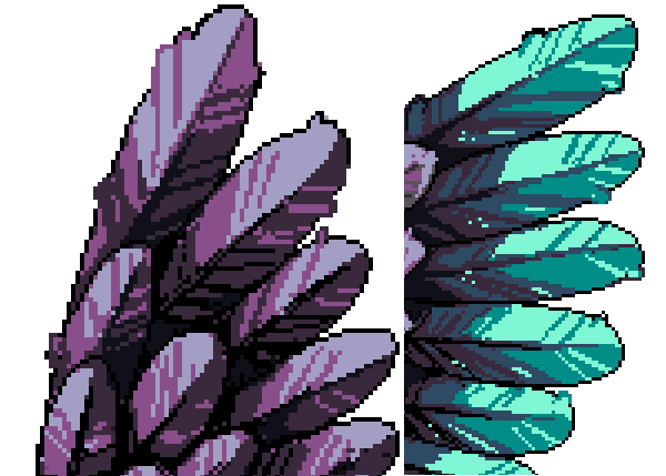 Wings clipart pixel art To Paint Tool Details for