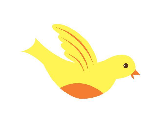 Wings clipart pretty bird Pretty Wall Pretty – Bird