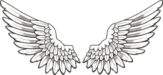Wings clipart printable Clipart Wings Wings Printable ClipartPen