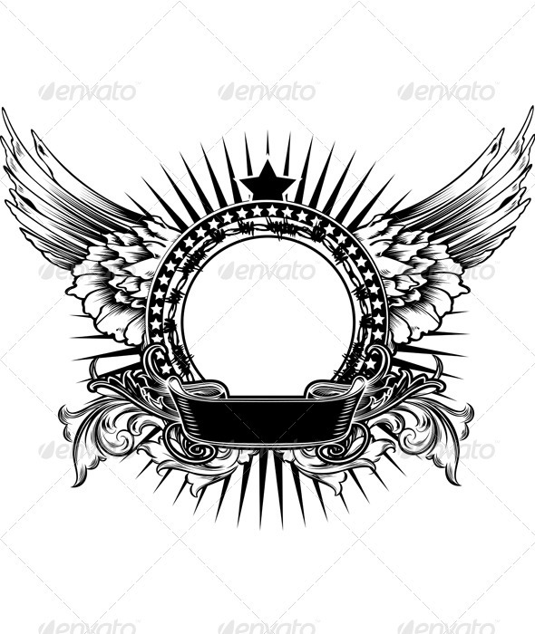 Wings clipart rock and roll Decorate rock Star One guitar
