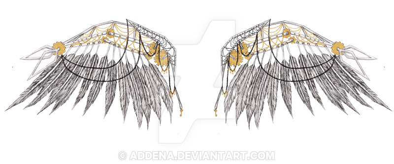 Wings clipart steampunk By Steampunk on by Wings