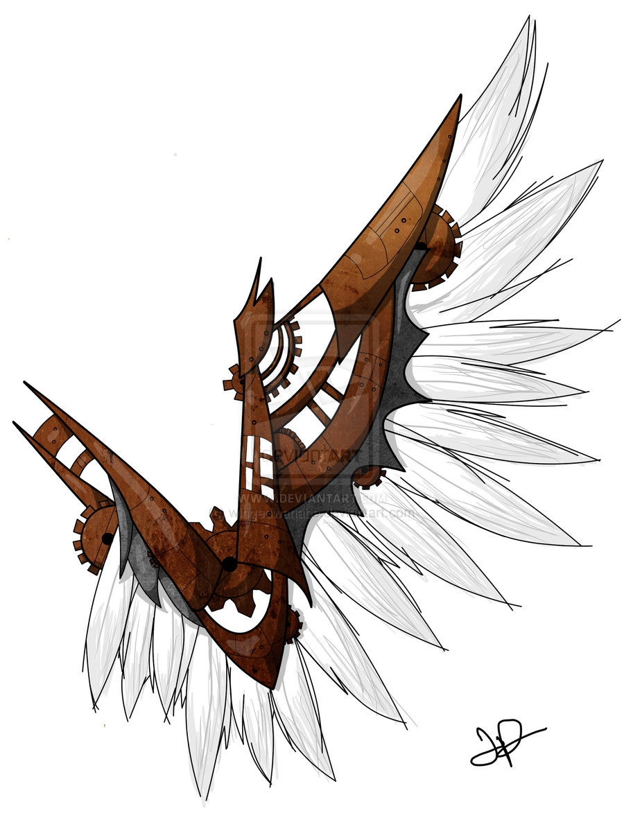 Wings clipart steampunk Best  Pinterest 36 images