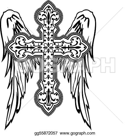 Amd clipart angel With Tribal tribal illustration EPS