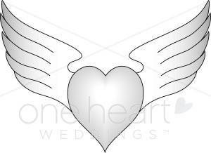 Wings clipart winged heart Winged Clipart Heart Clipart Images
