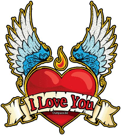 Wings clipart winged heart Graphics Wing With Clip Wing