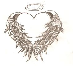 Wings clipart winged heart Wing Download Wing Tattoo Clipart
