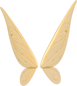 Wings clipart yellow Clipart  Free Fairy Wings