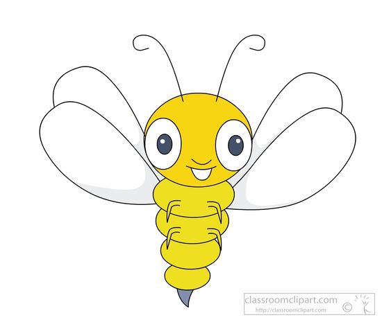 Wings clipart yellow Clipart clipart Insect jpg with