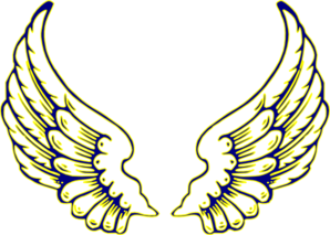 Wings clipart yellow Art clip Yellow And com