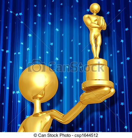 Ceremony clipart awarding ceremony And Concept Illustrations Award