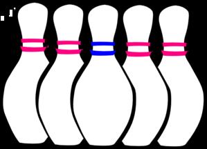 Retro clipart bowling pin #15