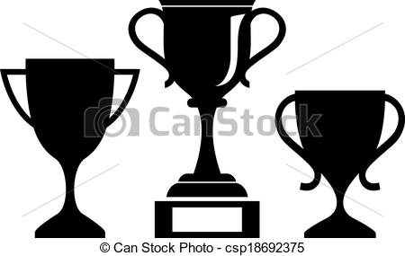 Winning clipart cup icon Vector Clipart Art Images Clip