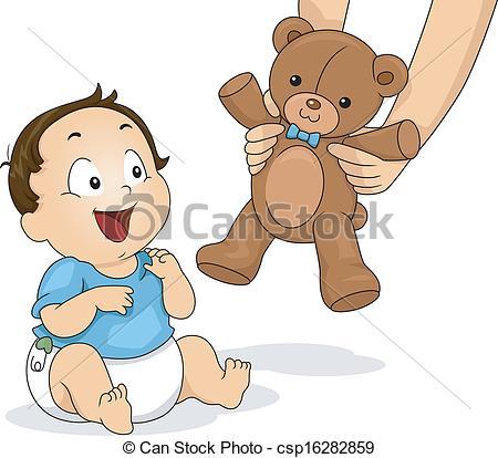 Winning clipart delighted Vector csp16282859 Teddy of Bear