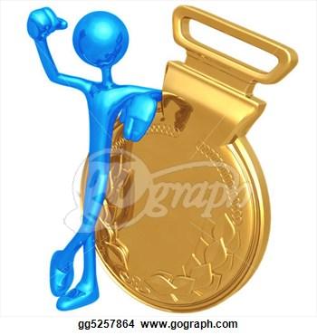 Winning clipart gold medal winner Clip Winner Free Panda Clipart