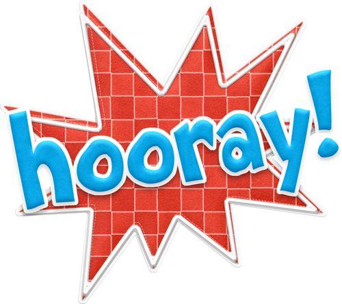 Winning clipart hooray Hooray images 186 Christmas Clipart