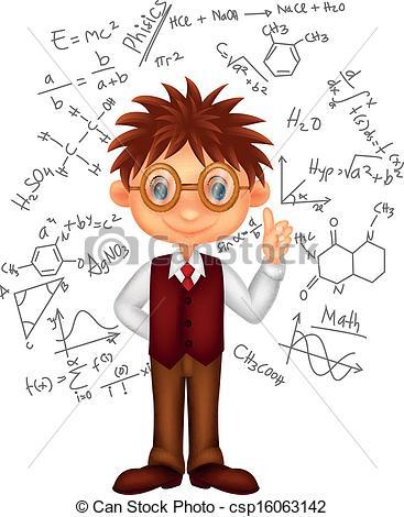 Winning clipart intelligent boy Boy illustration Vector boy csp16063142
