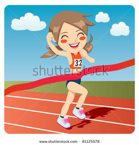 Winning clipart kid athlete Young Clipart Athlete Athlete Clipart
