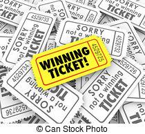 Winning clipart lottery ticket Clip Lottery 546 Illustrations Ticket