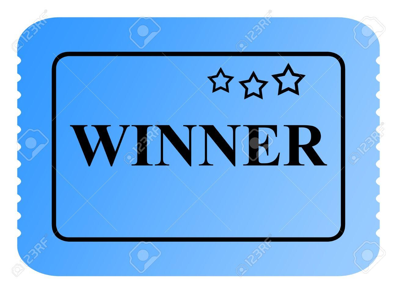 Winning clipart lottery winner Ticket  Lottery Winning Clip