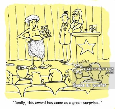 Winning clipart prize giving ceremony Cartoon from Prize Giving CartoonStock
