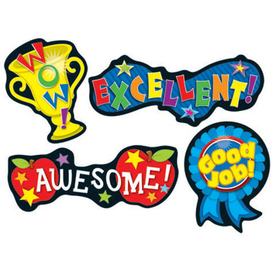 Winning clipart recognition  Clipart Positive Word Recognition