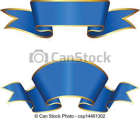 Winning clipart ribbon vector Blue Clipart Vector csp14461302 collection