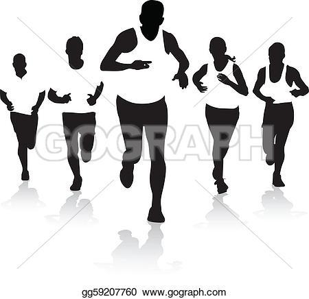 Winning clipart runner Free runners Art Clip ·