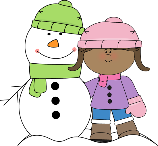 Winter clipart Winter Clip Art Winter Girl