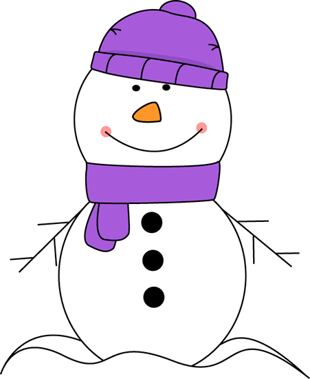 Winter clipart Scarf and Hat Winter Winter
