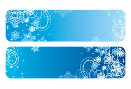 Winter clipart banner Clipart Winter Gallery Banners Vector